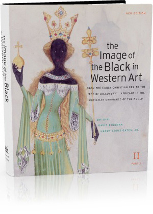 Book jacket: The Image of the Black in Western Art, Volume II: From the Early Christian Era to the 'Age of Discovery', Part 2: Africans in the Christian Ordinance of the World