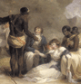 George Morland. African Hospitality. (thumbnail)