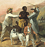 George Morland. Execrable Human Traffick; or, The Affectionate Slaves. (thumbnail)