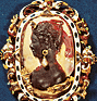 Cameo with the head of the goddess Diana. (thumbnail)