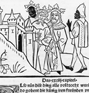 The Magi founding a city on the hill of Vaus. Woodcut from the Leben der Heiligen Drei Könige printed in Strasbourg in 1484 by Heinrich Knoblochtzer. (thumbnail)